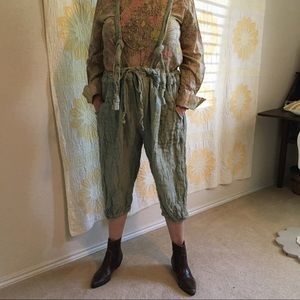 Magnolia Pearl Pants & Jumpsuits - Magnolia Pearl Suspender Pant